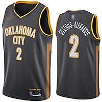 Besticktes Swingman Unisex-Klassisches /Ärmelloses Jersey-T-Shirt,L:180cm//75~85kg CCKWX Mavericks # 41 Nowitzki Vintage-Basketballtrikot