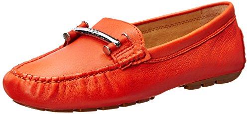 Lauren Ralph Lauren Caliana Donna US 8 Arancione Mocassini