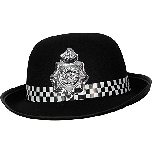 Kostüm Officer Police Womens - Police Hat Ladies WPC Officer Womens Fancy Dress Hat
