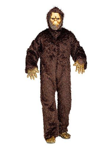 Kostüm Bigfoot (Bigfoot Kostüm Ungeheuer Deluxe braun M /)
