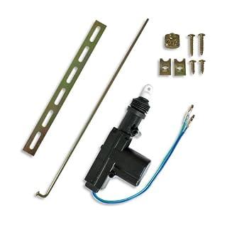 JOM 7103-1 Universal-Stellmotor, 2-polig, als Ersatz, Ergänzung oder Kofferraum Entriegelung oder bei Nachrüstung, Slave-Motor ohne Schalter