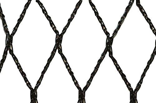 Filet anti-oiseaux - Maille de 35mm Noir 10m x 20m