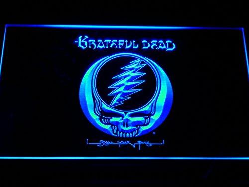 Grateful Dead LED Zeichen Werbung Neonschild Blau