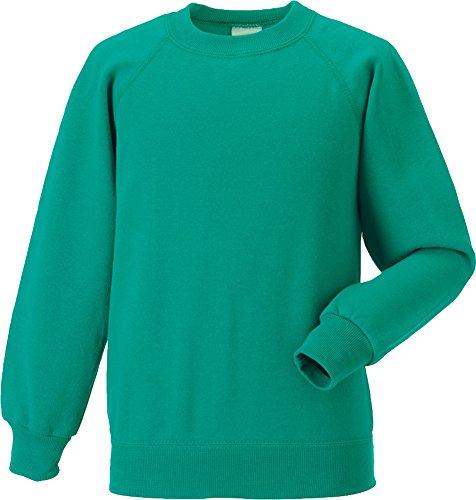 Jerzees Kinder Schoolgear Classic Sweatshirt Baumwolle Pullover Kids Warm Pullover, Blau (Jerzees-baumwolle-pullover)