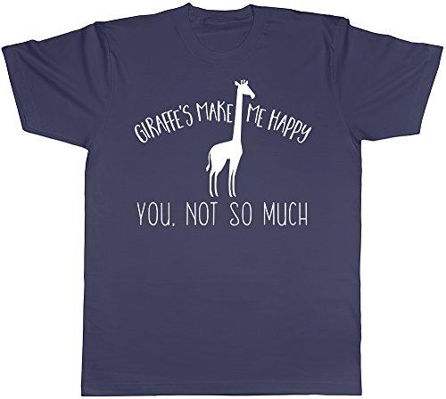 Shopagift Herren T-Shirt schwarz schwarz Marineblau