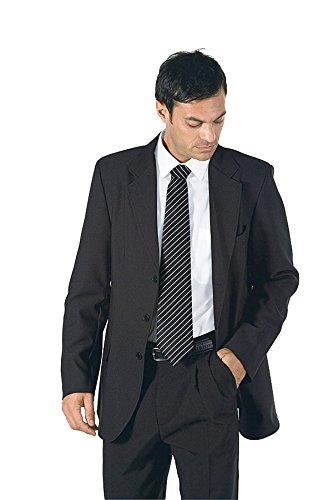 Isacco - Veste Homme Mi-Saison 3 Boutons Noir Noir