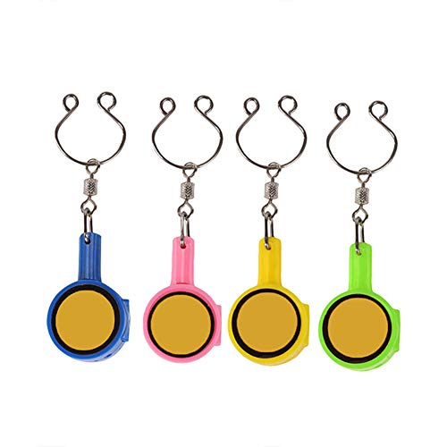 Syfinee 4 Pcs Multifunctional Fishing Quick Knot Hook Fast Tying Nail Knotter Line Cutter Tool -