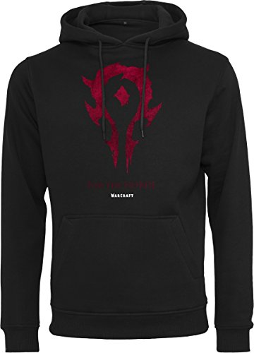craft Horde Hoody Kapuzenpullover, Black, L (World Of Warcraft Hoodie)