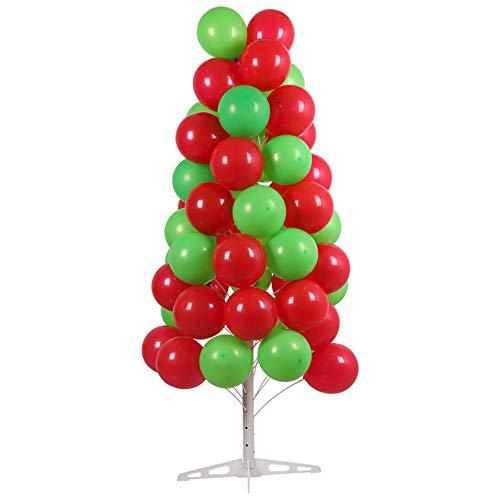 PILIBEIBEI Abnehmbare Ballon Dekoration Baum Display Halter Ständer für EIN Geschäft Werbe/Party Supplies (Nicht enthalten Luftballons) (Herzstück Baum)