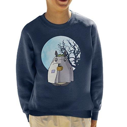 My Neighbour Totoro Halloween Trick Or Treat Ghost Kid's Sweatshirt
