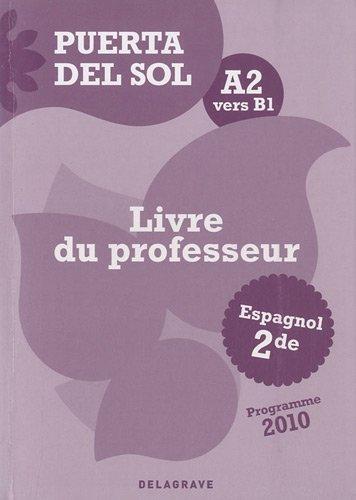 puerta-del-sol-a2-vers-b1-livre-du-professeur