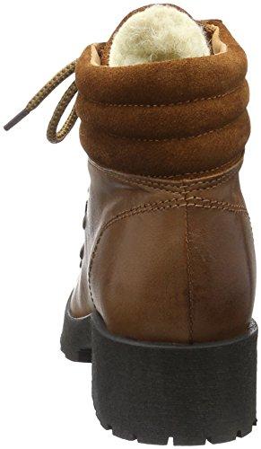 Bianco Warm Skiing Boot Son16, Bottes courtes avec doublure chaude femme Marron - Braun (Light Brown/24)