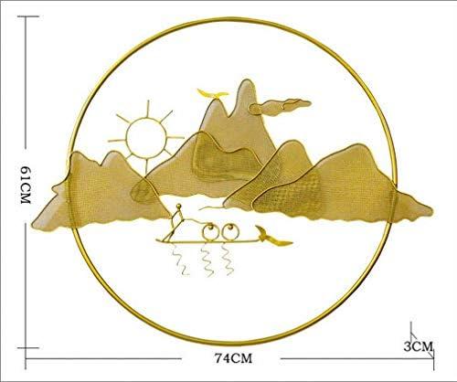 YC Creativo Nuovo Cinese Parete in Ferro Battuto Appeso Moderno Moderno Moderno Soggiorno Portico Muro Zen Decorazione Ornamento Appeso a Parete in Metallo,UN B07GBVH2SS Parent   Lasciare Che Il Nostro Commodities Andare Per Il Mondo    Aspetto Gradevole    Vendita    d7b9c4