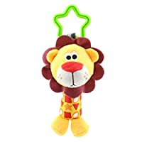 Fansi 1 PC Baby Plush Toys Creative Cute Lion Shape Pendant Hanging Car Seat Toy Kid Plush Doll Stroller Toy Great For Gift