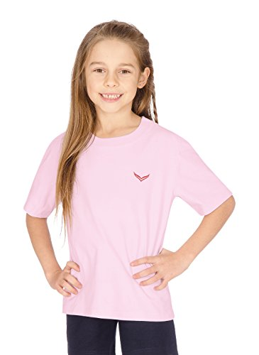 Trigema Mädchen T-Shirt 239202 hellrose-C2C