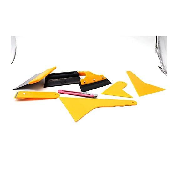 ACHICOO Car Window Tint Film Tools Kit Scraper Squeegee Auto Film Tinting Installation 7pcs/Set Automotive Supplies