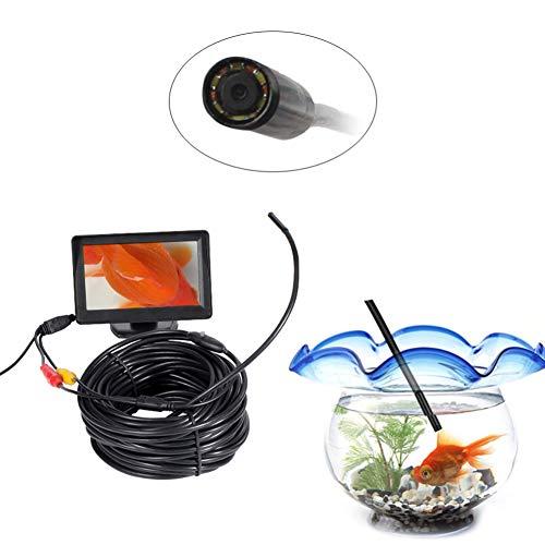 Endoskop Kamera, wasserdichte Industrielle Handy Endoskope 10mm 640P Mit 6 LEDs Für Industrielles Endoskop-Videosystem,20m