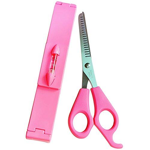 Vococal® Cheveux Style Bang Trim Tools Cheveux Amincissement Coupe Ciseaux Coiffeur Ciseaux + Clip de Peigne de Coupe de Cheveux
