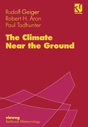 The Climate Near the Ground by Rudolf Geiger (1995-01-01)