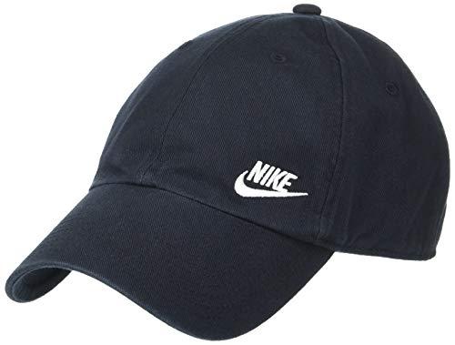 Nike sportswear heritage 86, berretto da baseball donna, nero (black/white 010), taglia unica