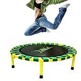 Circular Trampolin 36 Zoll, Maximale Tragfähigkeit 150kg Haushalt Sport-und Fitness-Trampoline, Faltbares Trampolin Geeignet für Indoor/Garten/Fitness Aerobic