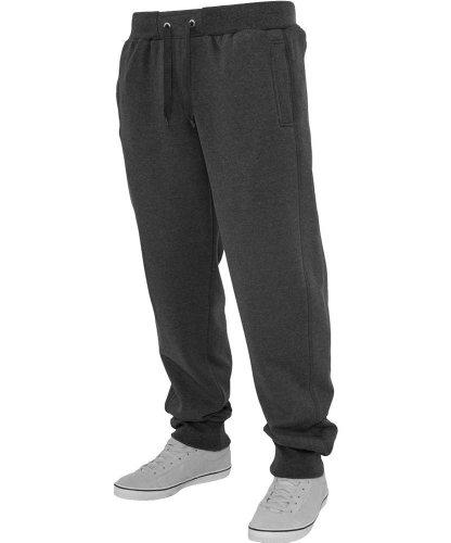 Urban Classics -  Pantaloni  - Uomo Charcoal