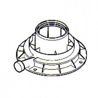 Vaillant 303926 Geräteanschluss-Sück an Abgasleitung, 80/125 mm