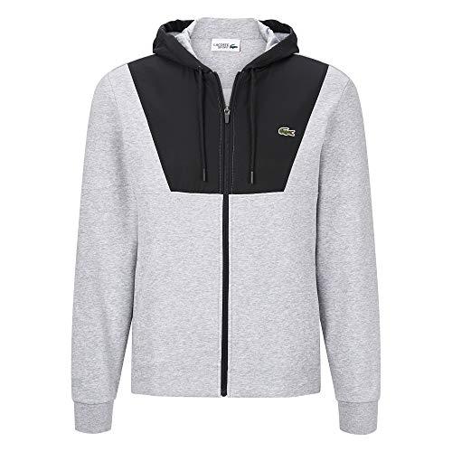 Lacoste Sport Hooded Fleece Zip Sweatjacket Retro Hooded Fleece