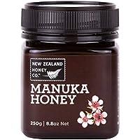 La mejor miel de manuka pura 100% de New Zealand Honey Co.   250g   La miel de manuka salvaje más rara de la remota isla del sur   Sin OGM, sin antibióticos, sin aditivos, calidad garantizada