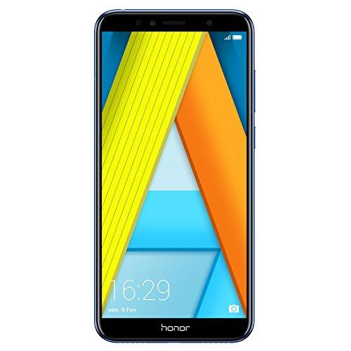 Honor 7A Smartphone débloqué 4G (Ecran : 5,7 pouces - 16 Go - Dual Nano-SIM - Android) Bleu [Version française]