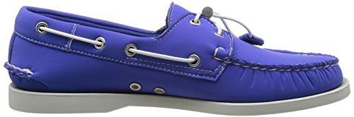 Sebago Herren Docksides Neoprene Bootschuhe Blau - Bleu (Blue Neoprene)