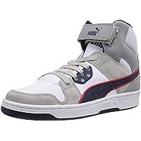 Puma - Puma Rebound Street Leather, Scarpe da basket da unisex adulto