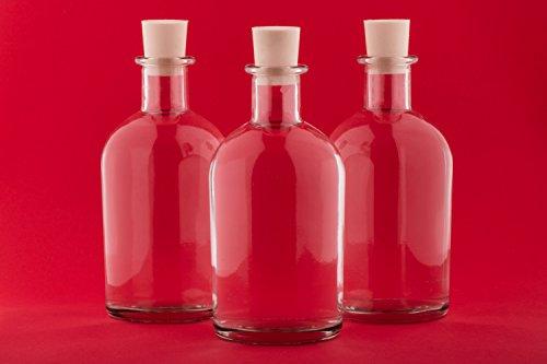 Slkfactory 12 pezzi da 250 ml new-bost bottiglie di liquore vuota
