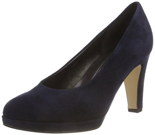Gabor Shoes Damen Fashion Pumps, Blau (River 46), 42 EU