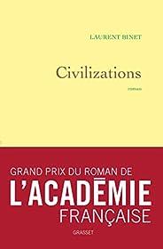 Civilizations - Grand prix du Roman de l'Académie française