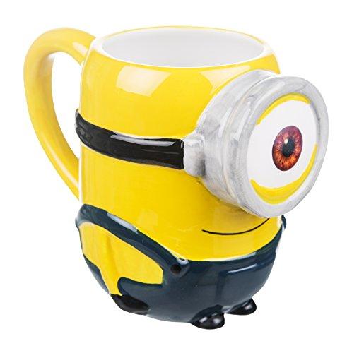 41rncB%2BbfRL Minions Bob 3D Tasse mit Duftanhänger - Minions Tassen 3D - Produkttipp