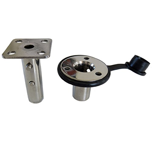 Magma T10-326 Single Locking Flush Deck Socket Mount -