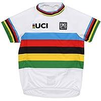 Santini - Camiseta de Manga Corta para niño con diseño de campeón del Mundo UCI, Multicolor, Talla única