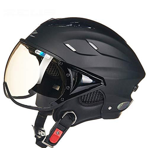 Sicherheit & Schutz Sicherheit Helm Motorrad Helm Hälfte Helm Sommer Elektrische Auto Männer Frauen Persönlichkeit Baseball Helm Schutz