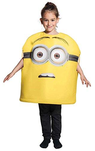 Kostüm 3d Minion (3D Minions-Kostüm für Kinder 98/110 (3-5)