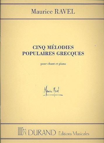 Mélodies populaires grecques (5)-Fr/Ang...