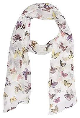 ICW Women's Tassels Scarf (Large) Size 32W x 78L Inch Soft Cotton (100% Viscose)