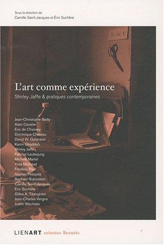 L'art comme expérience par Shirley Jaffe
