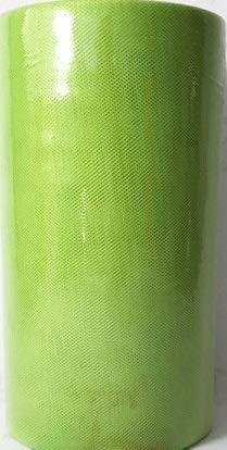 Baratti tulle verde chiaro 25 cm x 100 mt