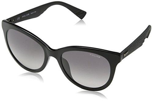 Police Damen Sparkle 2 Sonnenbrille, Schwarz (Shiny Black), 46
