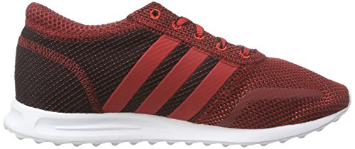 adidas Originals Los Angeles, Baskets Basses mixte adulte Rouge - Rot (Scarlet/Scarlet/Core Black)