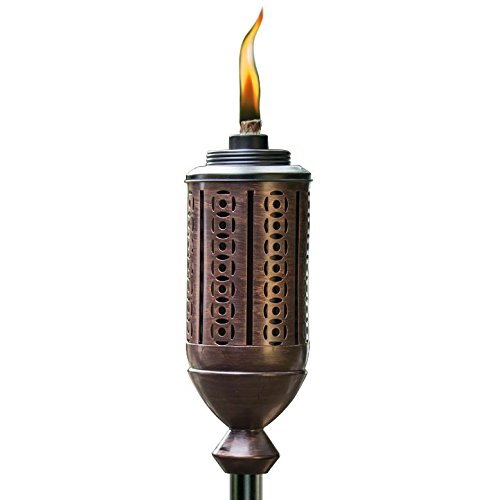 Tiki® Marke 165Cabos Metall Taschenlampe, Kupfer