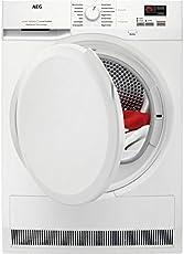AEG T6DB40370 Wäschetrockner / 7 kg Schontrommel mit XXL-Türöffnung / effizienter Kondensationstrockner mit Mengenautomatik und Knitterschutz / bewahrt die Qualität der Textilien / Energieklasse B (504 kWh pro Jahr) / weiß