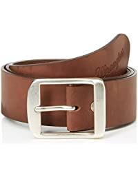 Wrangler Men's Ctf Central Buckle B Brown Belt