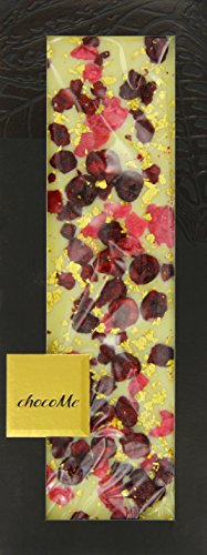 chocome-entree-exclusive-white-chocolate-with-genuine-gold-flakes-rose-petals-and-sour-cherries-100-
